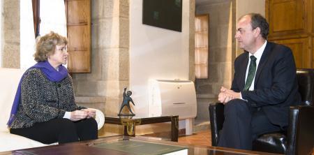 Monago recibe a la Defensora del Pueblo para conocer los asuntos que los extremeños dirigen a esta institución
