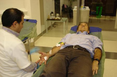 Extremadura superó su propior record de donaciones de sangre en 2012 con un incremento del 4,15%