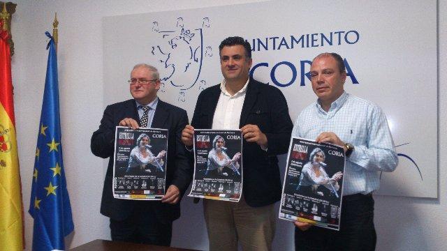 Estrella Morente abrirá el XVII Festival Internacional de Guitarra Ciudad de Coria el próximo 3 de agosto