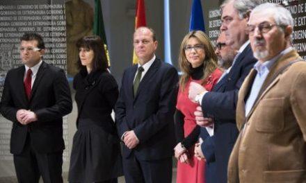 Monago presenta un plan de fomento y consolidación del autoempleo que califica de histórico, único y pionero
