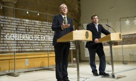 Monago y Vara se muestran favorables a dialogar en la Asamblea de Extremadura sobre la reforma electoral