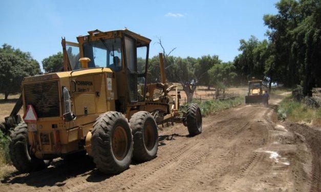 La Mancomunidad Sierra de San Pedro reparó más de 140 kilómetros de caminos el pasado año