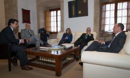 Monago se reúne con el presidente de TRAGSA para abordar las contrataciones de empleo en la región