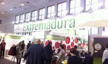 Empresas y cooperativas extremeñas exponen sus productos en la Feria Fruit Logistica de Berlín