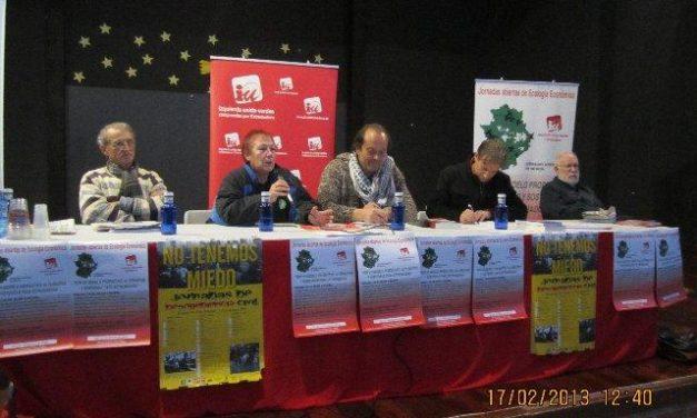 IU clausura las jornadas sobre ecología económica con propuestas alternativas de desarrollo