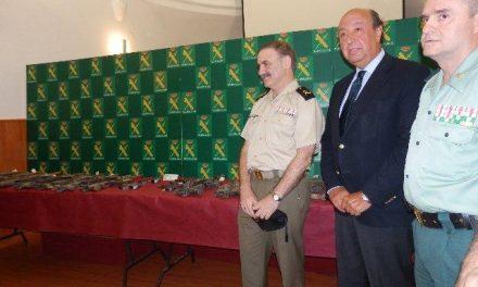 López Iglesias anuncia que la Guardia Civil ha hallado otra pistola de las robadas en la Base Militar de Bótoa