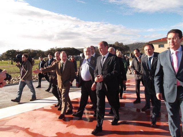 La helibase de Serradilla será la única de la región que cuente con un helicóptero durante todo el año