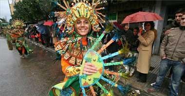 El grupo «Las Monjas» se proclamó ayer ganador del concurso de comparsas de la capital pacense