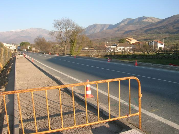 El Ayuntamiento de Aldeanueva del Camino inicia las obras de adecuación de la travesía de la N-630