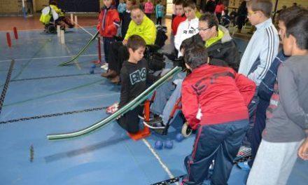 El colegio Virgen de Argeme de Coria acoge el programa de la Fundación Jóvenes y Deporte Supercapaces