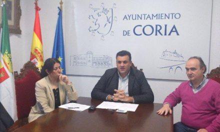 Coria recibe 290.000 euros de la Diputación de Cáceres para proyectos y obras de pavimentaciones