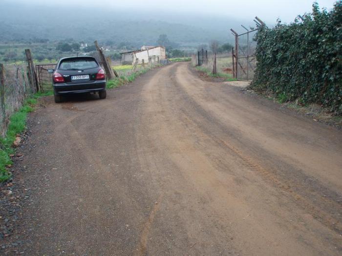 La Junta ha llevado a cabo los trabajos de mejora del Camino de las Tumbas de los Moros de Aliseda