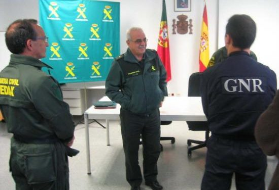 La Guarda Nacional Republicana de Portugal visita la Comandancia de la Guardia Civil de Cáceres