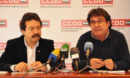 CCOO alerta sobre la desaparición del ferrocarril en la región y reclama al Gobierno regional su defensa