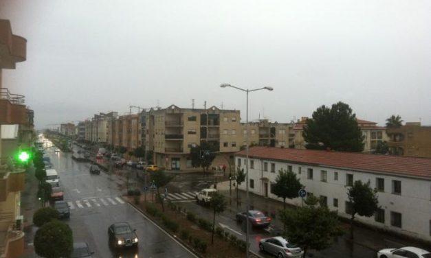 El Centro de Urgencias 112 establece la alerta amarilla por lluvias en el norte de Cáceres y el sur de Badajoz