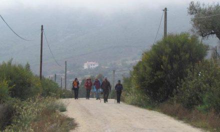 Cientos de senderistas participarán el 7 de abril en la XV Ruta Transfrontera de Valencia de Alcántara