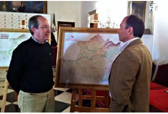 La Diputación actualiza el mapa de la provincia cuarenta años después de la primera versión