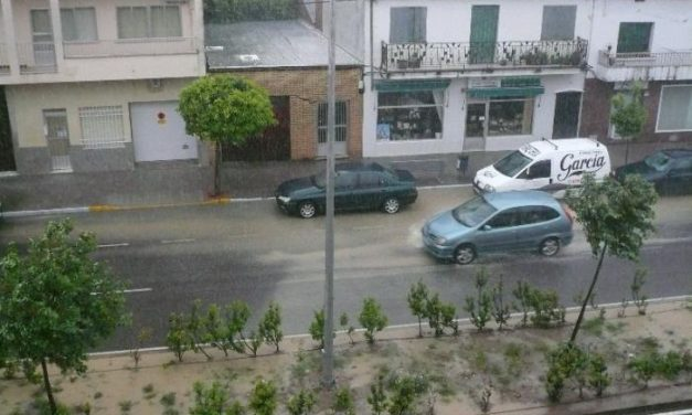 El 112 activa la alerta amarilla por lluvias este viernes en el norte de Cáceres, las Villuercas y Montánchez
