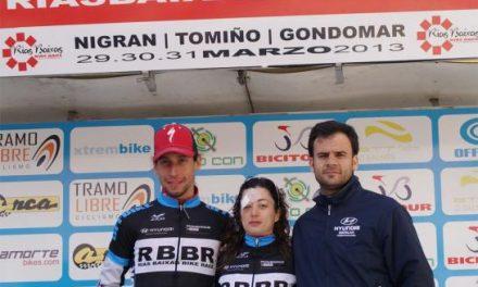 El placentino Pedro Romero, del Maat International-Extremadura, vence en la Rías Baixas Bike Race