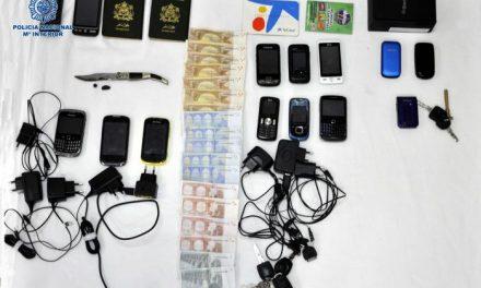 La Policía Nacional detiene a cinco personas en una operación antidroga en la cormarca de barros
