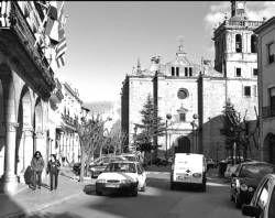 La Policía local de Villanueva de la Serena realiza un estudio sobre la vigilancia del tráfico con videocámaras