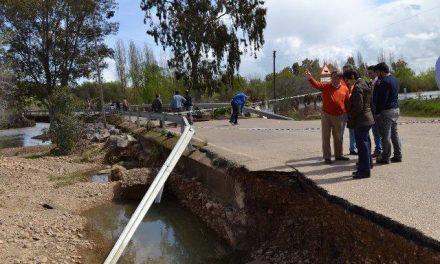 Fomento anuncia la apertura de la EX-307 entre Mérida y Guareña aunque es necesario circular con precaución