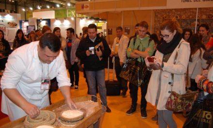 Queso de la Serena protagoniza GourmetQuesos en Madrid con una elaboración de queso en vivo