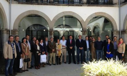 Coria acoge la reunión técnica de seguimiento del proyecto circuíto turístico por Tierras Rayanas