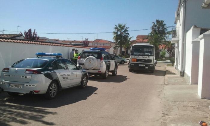 Un hombre de 66 años fallece atropellado por un camión de repostaje de gasoil en La Moheda de Gata