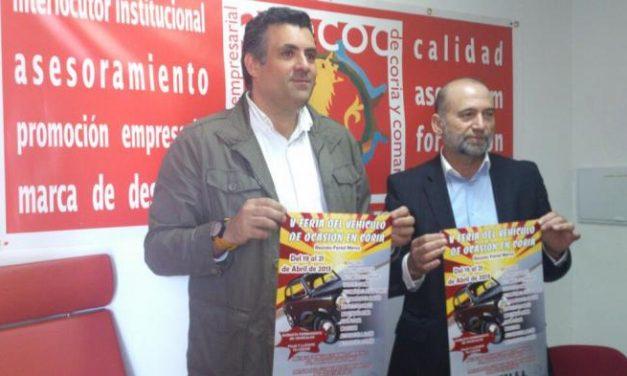 La Feria del Automóvil de Coria arranca este viernes con una muestra de más de 150 vehículos