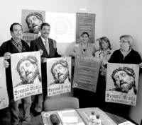 El Cristo de la Paz ilustra el cartel de Semana Santa que ha presentado la junta de cofradías de Don Benito