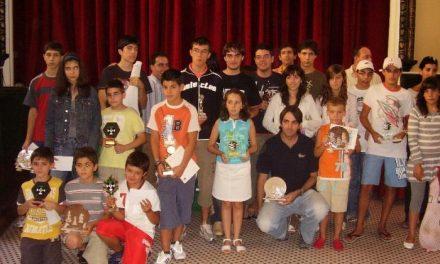 Finaliza el V Torneo Internacional de Ajedrez por categorías celebrado en Baños de Montemayor