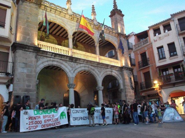 El Campamento Dignidad de Plasencia organiza una marcha a pie hasta Mérida del 3 al 9 de mayo