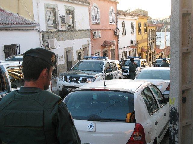 La Guardia Civil desmantela varios puntos de venta de drogas en el norte de la provincia cacereña