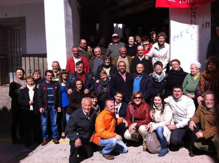 Los socialistas cacereños rinden homenaje a Dulce Chacón en el décimo aniversario de su muerte