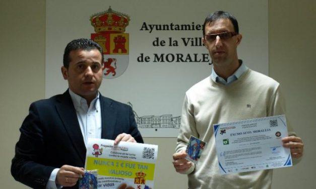 """El consistorio de Moraleja vende pulseras """"salvavidas"""" para adquirir desfibriladores semiautomáticos"""