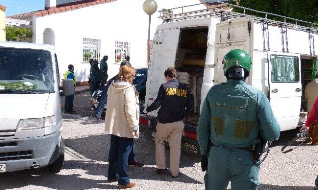 La Guardia Civil desarticula una banda especializada en robos y detiene a 8 personas en Plasencia y Galisteo