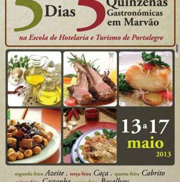 La Escuela de Hostelería de Portalegre condensa en cinco días las quincenas gastronómicas de Marvao