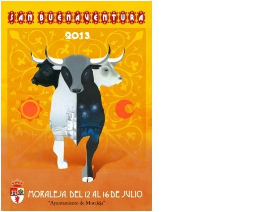 Un joven de Moraleja gana el concurso convocado para elegir el cartel que anunciará San Buenaventura 2013