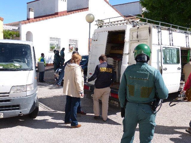 Los detenidos en la operación Bahondo están implicados en más de cien delitos contra el patrimonio