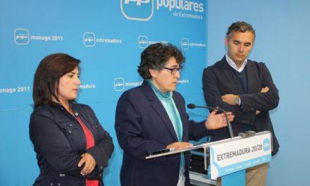 Los populares denuncian irregularidades del PSOE en la gestión de  Sierra de San Pedro-Los Baldíos