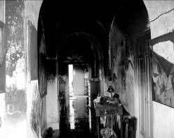 Un incendio destruye parte de la obra del pintor García Arroyo en su vivienda de Villafranca de los Barros