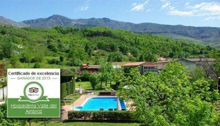 La Hospedería Valle del Ambroz premiada con la Certificación de Excelencia 2013 de TripAdvisor
