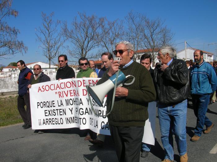La Diputación de Cáceres asume la gestión de la carretera entre La Moheda de Gata y Moraleja