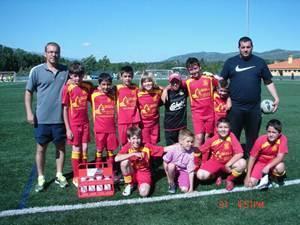 Los benjamines de la Asociación Deportiva Villa de Moraleja se clasifican entre los mejores de Extremadura