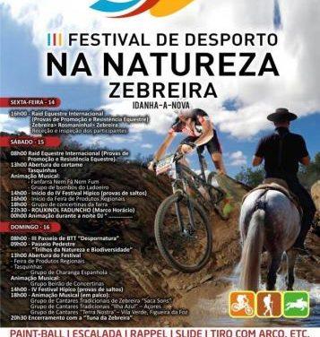 La localidad rayana de Zebreira acoge este fin de semana el III Festival del Deporte