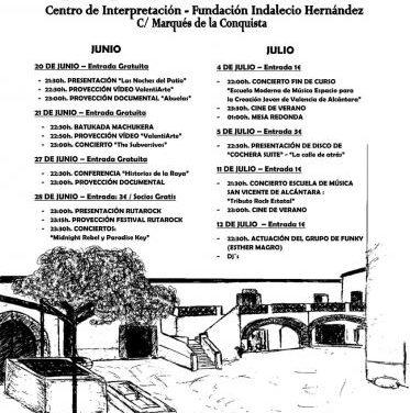 """Valencia de Alcántara llena de vida la Fundación Indalecio Hernández con el plan """"Noches del Patio"""""""