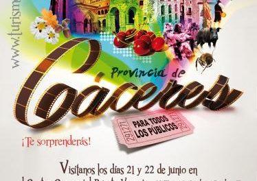 Cáceres y su provincia presentarán su mejor oferta turística y gastronómica este fin de semana en Zaragoza