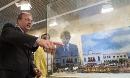 Monago inaugura el nuevo auditorio de Llerena y la remodelación del Palacio Episcopal como museo