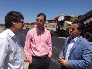 La obras del polígono  El Postuero concluirán en los próximos días con una inversión de 300.000 euros